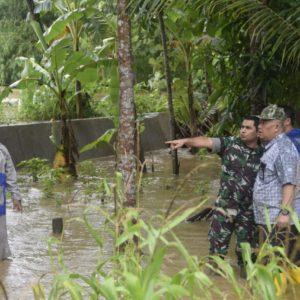 Dandim Pantau Banjir Purworejo